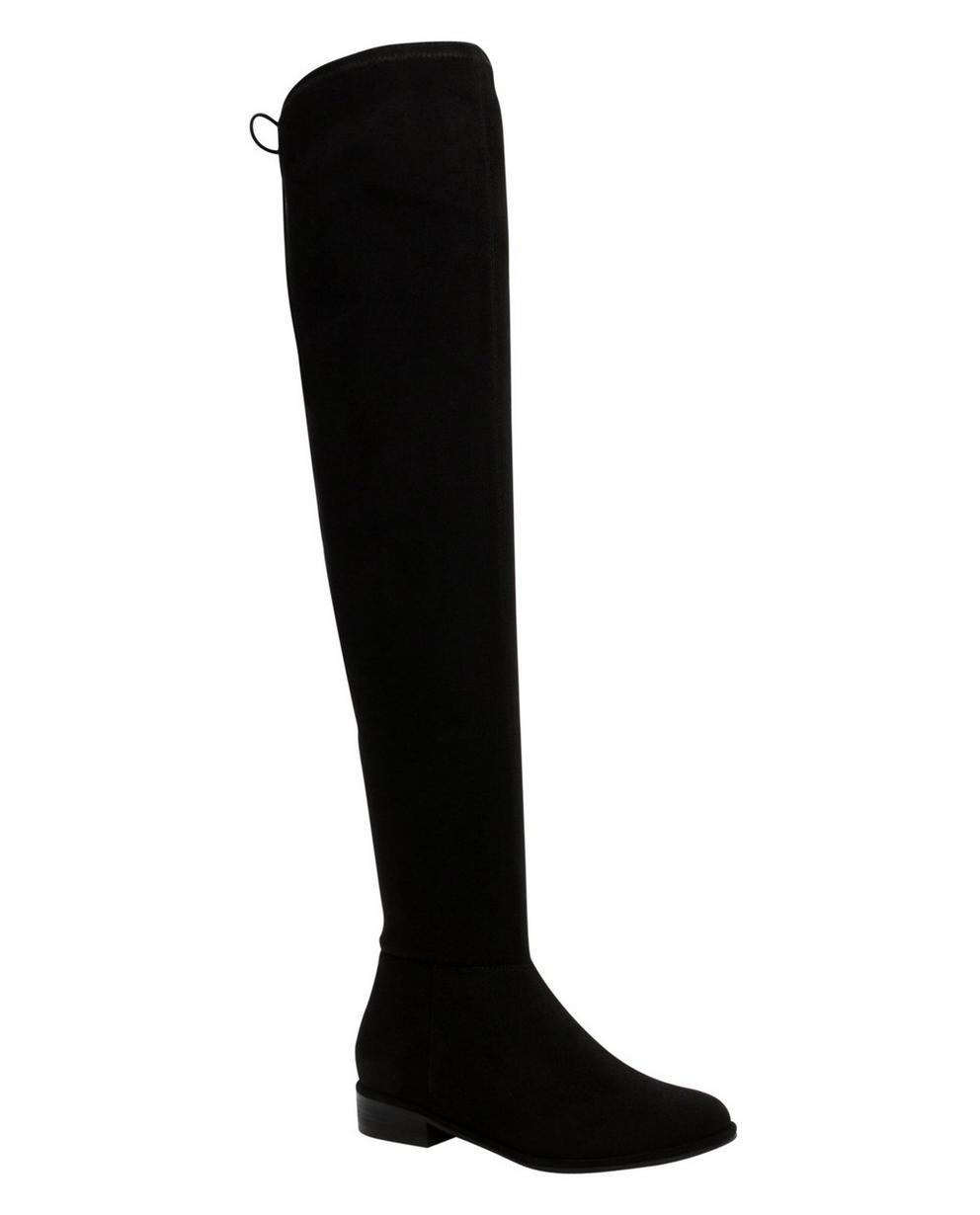 Zwarte overknee laarzen - met aansluitende pasvorm - Call it Spring